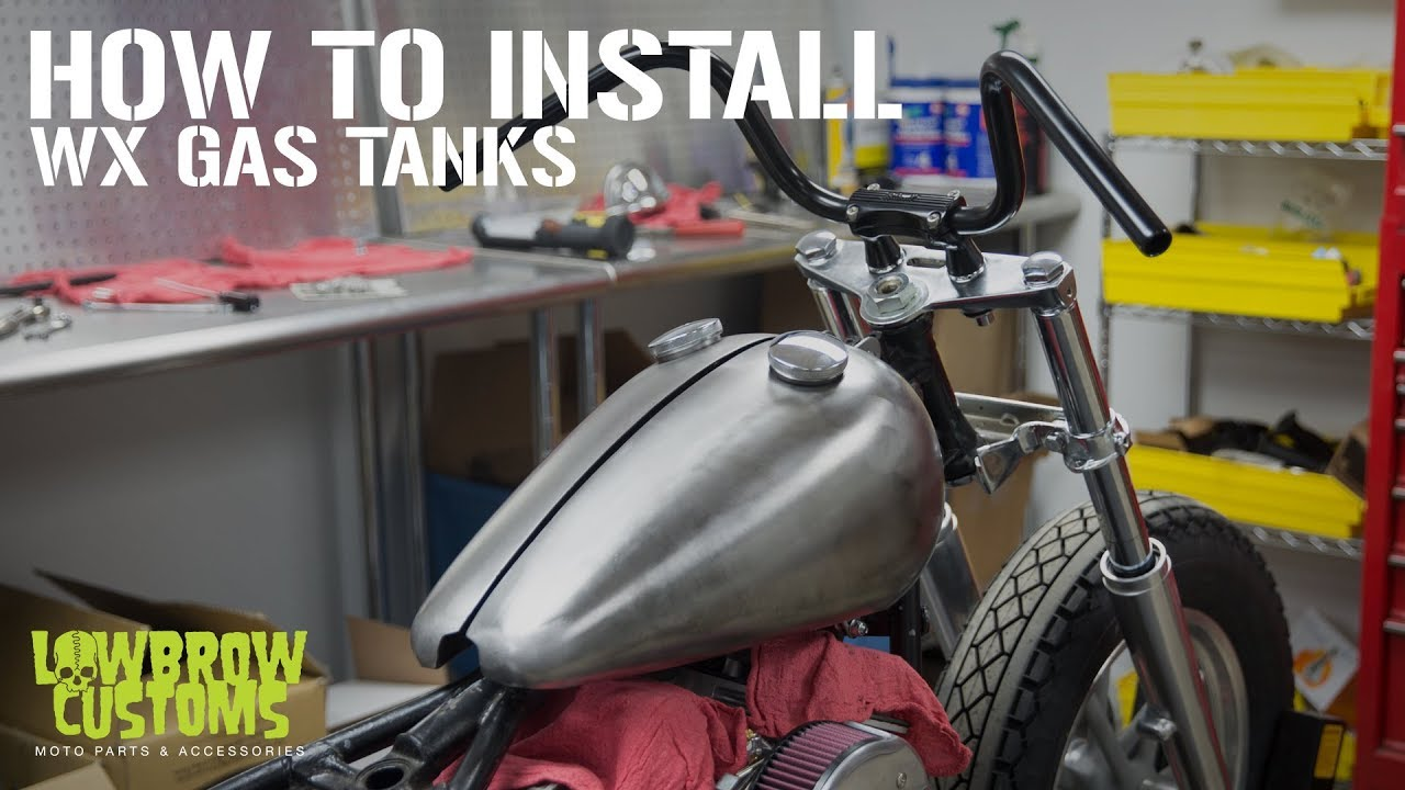 How to Intstall Lowbrow Customs WX Split Tanks