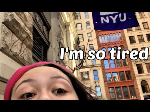 A Day In The Life Of An NYU Tisch Student 2019