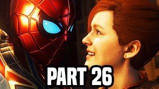 SPIDER-MAN PS4 Gameplay Walkthrough Part 26 - The Big Secret! (PS4 PRO Spiderman Gameplay)