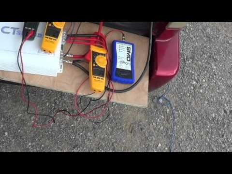 CT Sounds CT 500.1d Clamp Testing 702.6 Watts