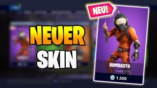 NEUER SKIN BOMBASTO 💣😜 Fortnite Shop Heute 24.4 | Item Shop 24 April