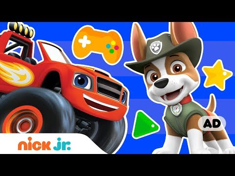 Let's Play Nick Jr. Video Games W/ PAW Patrol, Blaze & More! (AD)  | Nick Jr. Games | Nick Jr.