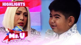 Vice Ganda tries Yorme's knowledge about fruits | It's Showtime Mini Miss U