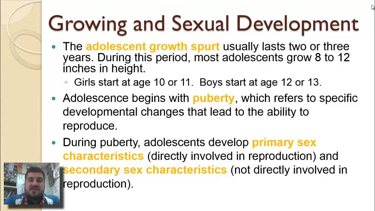 male growth and development