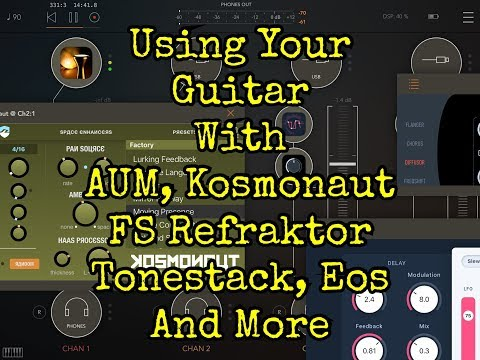 AUM Guitar LAB Special with Lots Of Effect Apps - Demo for the iPad