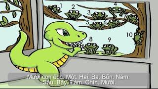 Vietnamese learning stories for kids - Vietnamese Numbers storybook