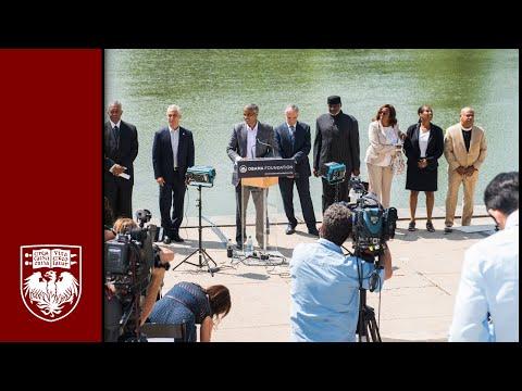 Jackson Park named site of the Obama Presidential Center