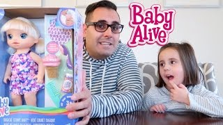 NEW BABY ALIVE MAGICAL SCOOPS BABY!!!