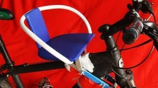 самое дешевое детское сиденье на велосипед за 650 руб