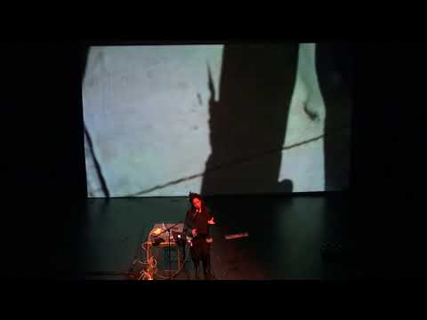 Pamela Z's solo show  at CU Boulder, March 1st, 2018