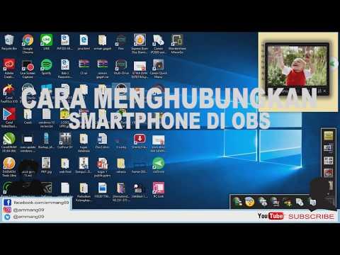 Cara live streaming dengan menampilkan layar / mirror android ke komputer dan OBS