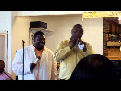 Pastor Tony Atkins - Singing in a heavenly choir
