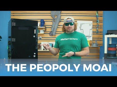 The Peopoly Moai Resin 3D Printer Kit // SLA 3D Printer Product Review