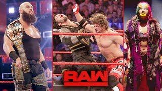 Braun WINS US Title ? Aj Styles ATTACKS Roman ? Shakeup 2019 ! WWE Raw 15 April 2019 Highlights