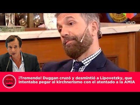 ¡Tremendo! Duggan cruzó y desmintió a Lipovetzky, que intentó pegar al kirchnerismo a la causa AMIA