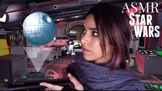 asmr star wars roleplay episode 1 the lost rebel tapping cottons plastic sounds