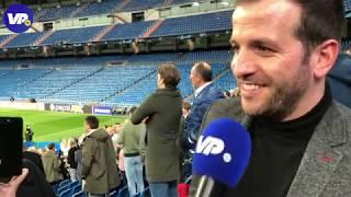 Van der Vaart: ''Ajax kan zeker twee doelpunten maken tegen Madrid''