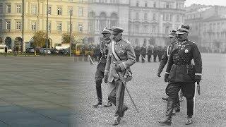 Józef Piłsudski w Warszawie - dawniej i dziś