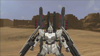 Dynasty Warriors: Gundam Reborn - Full Armor Unicorn Gundam [DLC] Gameplay -1-