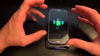 review of the qifull qi wireless charger for samsung galaxy s3 i9300 by totallydubbedhd