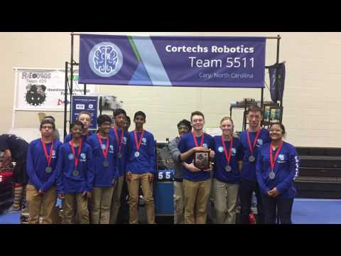 FRC Cortechs Robotics 5511 Pitt County Districts 2017