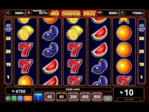 игровые автоматы 40 super hot