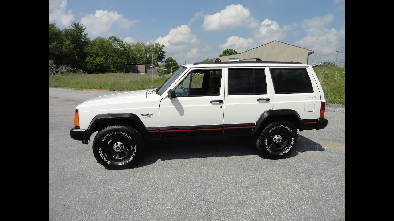 small resolution of 1996 jeep cherokee sport 4 0l inline 6 automatic 4x4 tour walk around engine start up