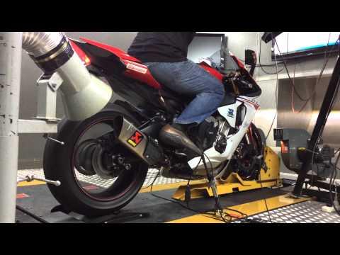 "Yamaha R1 2015 ท่อ Akrapovic Gp Shorty + Link Pipe Reflashing ""Zeuz Superbike Performance"""