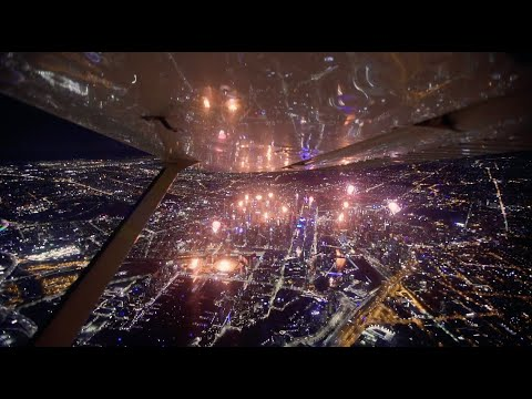 Melbourne NYE Fireworks 2020 Aerial View Synced With Offical Soundtrack
