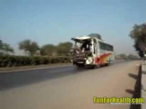 Crazy Indian Bus