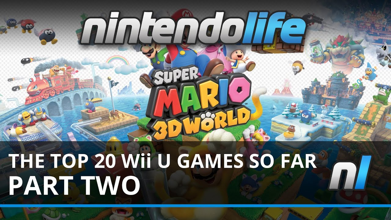 Top 20 Wii U Games So Far Part Two Youtube