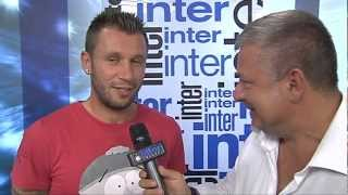 Antonio Cassano, la prima intervista da giocatore dell'Inter, the first interview at Inter