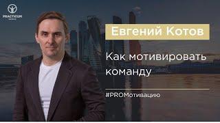 Мотивация персонала (советы для руководителей). Евгений Котов