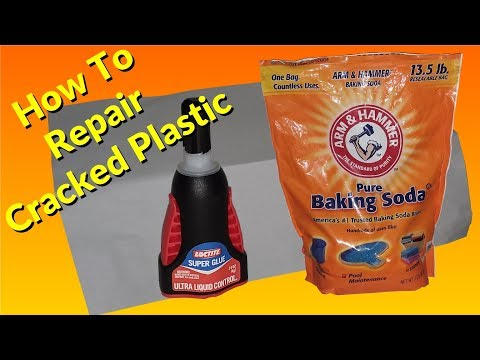 DIY Repairs Super Glue and Baking Soda