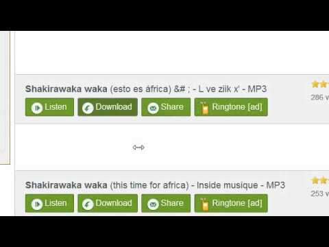 Shakira - Waka Waka DOWNLOAD LINK