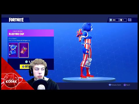 Fortnite ITEM SHOP Reset Early... 4th Of July SKINS!!