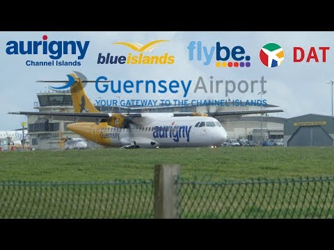 TRYING A NEW SPOT Guernsey Airport Spotting 1080p HD 19th August 2017