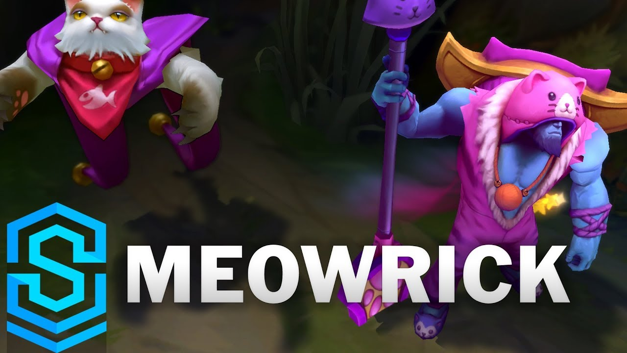 Meowrick Skin Spotlight - Pre-Release - League of Legends