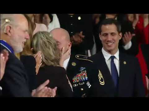 Family Surprised By Military Homecoming During Trump's State Of The Union Speech