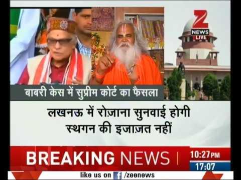 Ex-BJP MP Ram Vilas Vedanti admits he Incited mob to raze Babri mosque