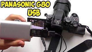 USB адаптер для Panasonic G80/G85. Заряжаем и снимаем от USB и Power Bank
