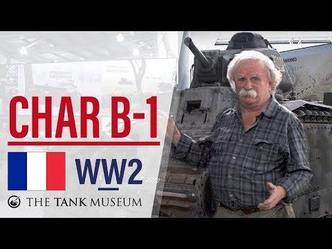 Tank Chats #28 Char B-1 Bis | The Tank Museum