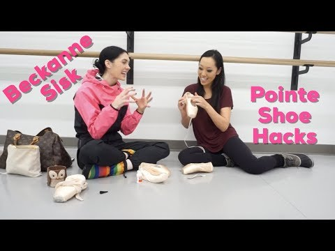 Pointe Shoe Hacks: