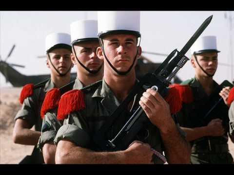 """chant legion etrangere : """"nous somme tous des volontaires"""""""
