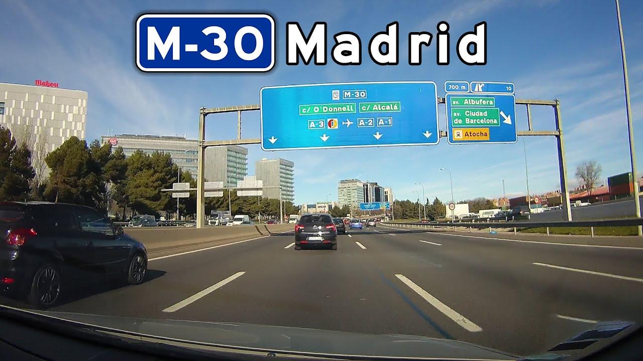 Espa a m 30 calle 30 circunvalac on de madrid - H m calle orense madrid ...