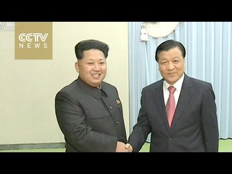 Chinese senior CPC leader meets Kim Jong Un