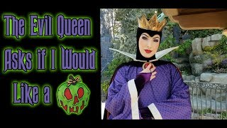 Gambar cover The Evil Queen asks if I would like an apple