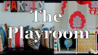 Create a cool playroom| DIY | Terri Cumming | Interior Design