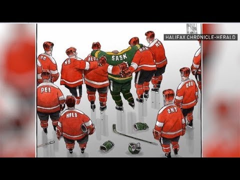 Why a Humboldt cartoon captured Canada's grief and strength