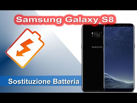 Samsung Galaxy S8 SM-G950F Sostituzione batteria - Battery Replacement